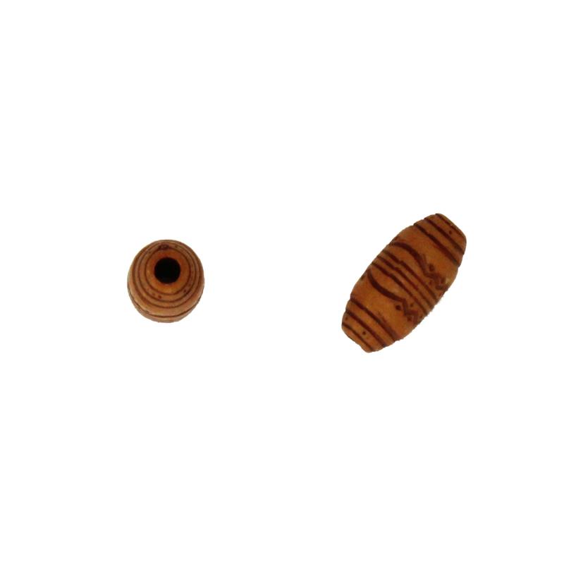 kleine houten kraal bruin