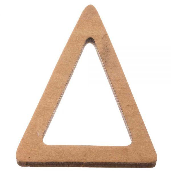 Houten driehoek