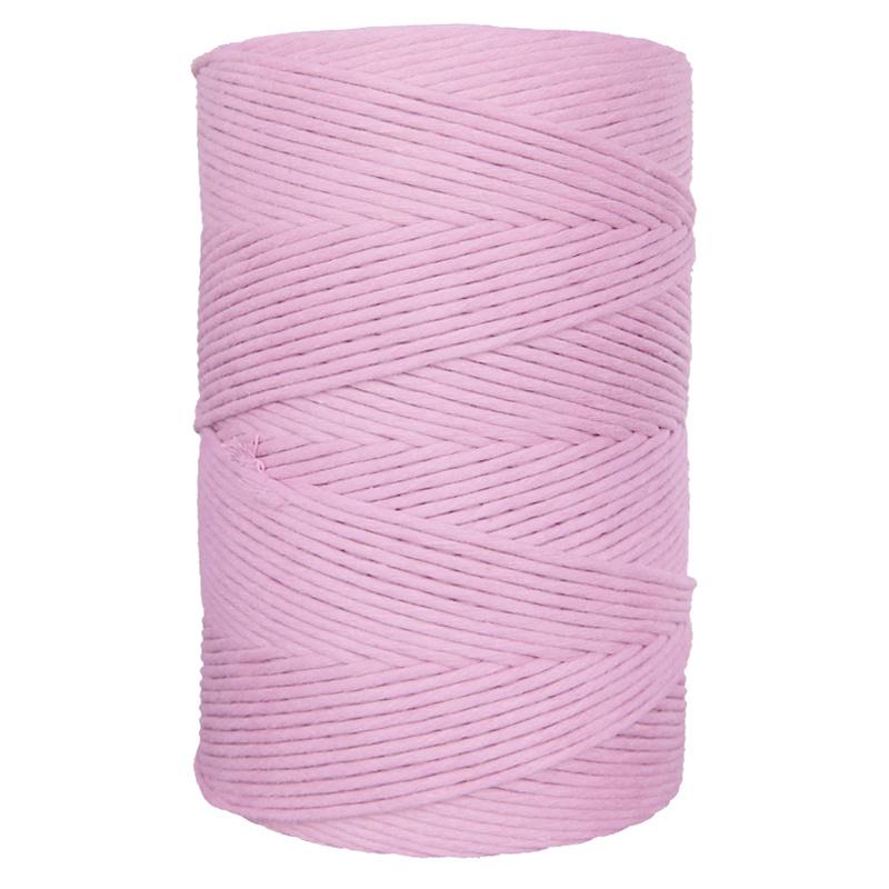 Hearts single twist 4,5 mm pink (500m)