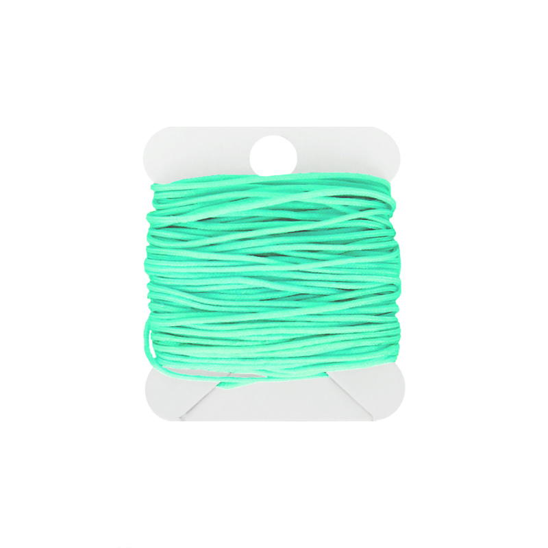 Macramé koord 0.8 bright green