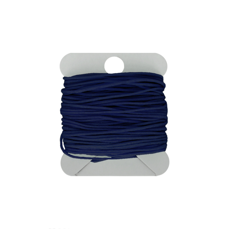 Macramé koord 0.8 mm dark navy