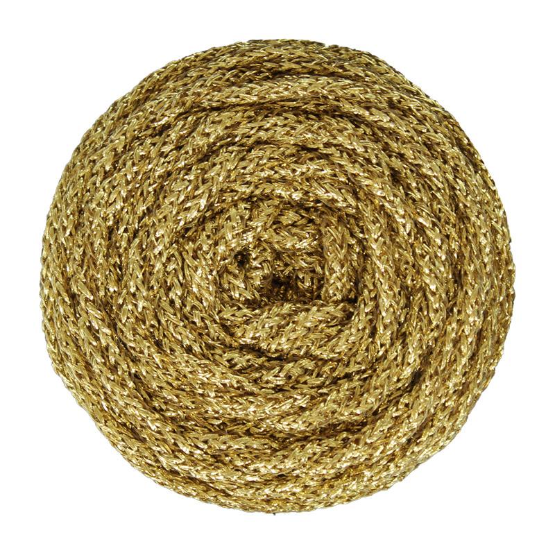 Gouden lurex 5 mm