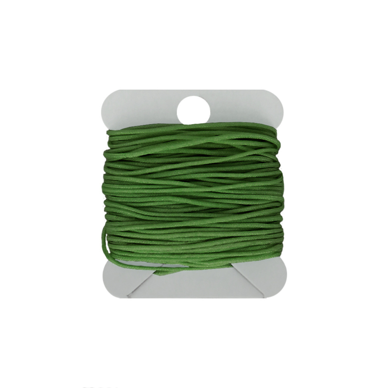 Macramé koord 0.8 mm green