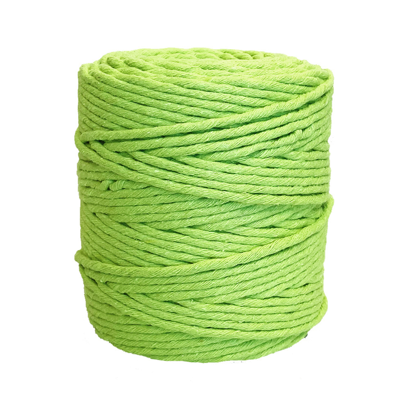 Single twine 3 mm limegreen