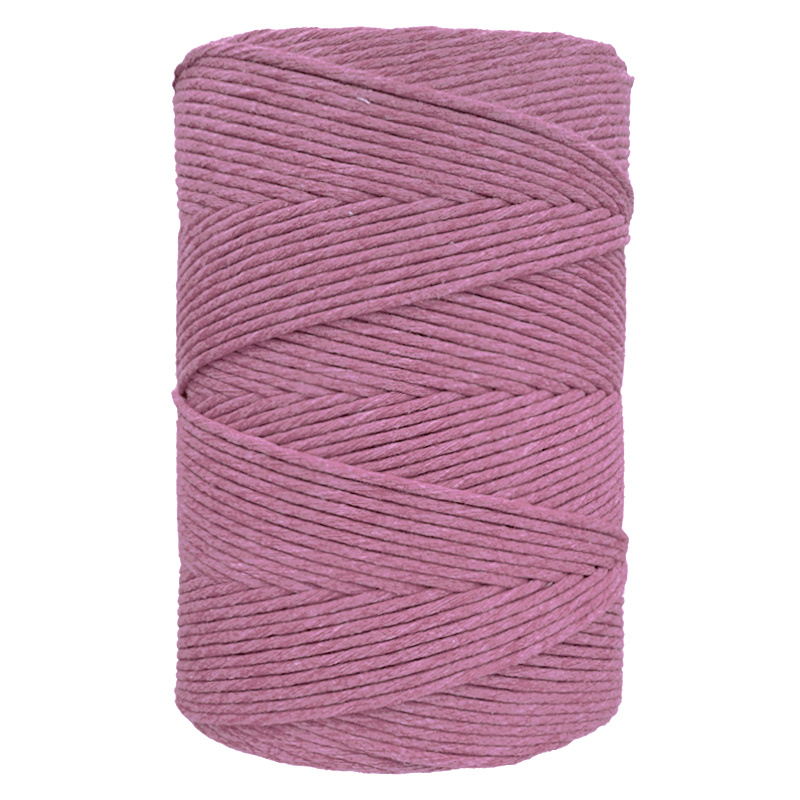 Hearts single twist 4,5 mm primrose (500m)