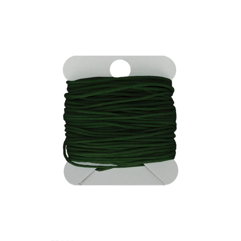 Macramé koord 0.8 mm dark green