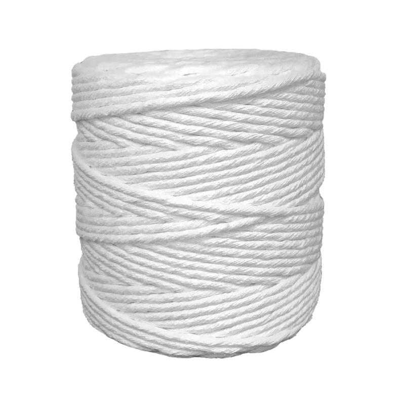Single twine 3 mm white