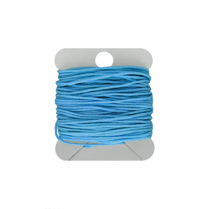 Macramé koord 0.8  blue azure