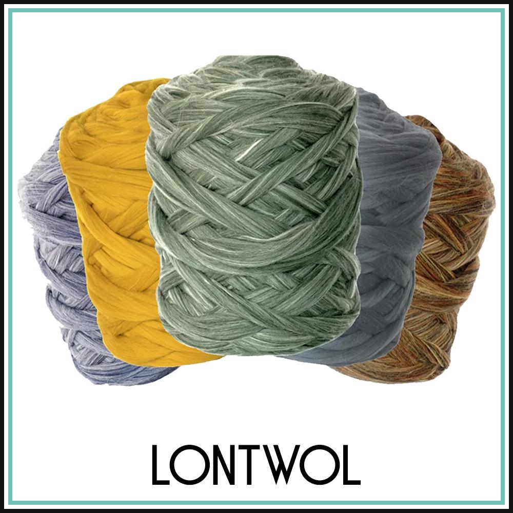 Lontwol Gekleurd XXL