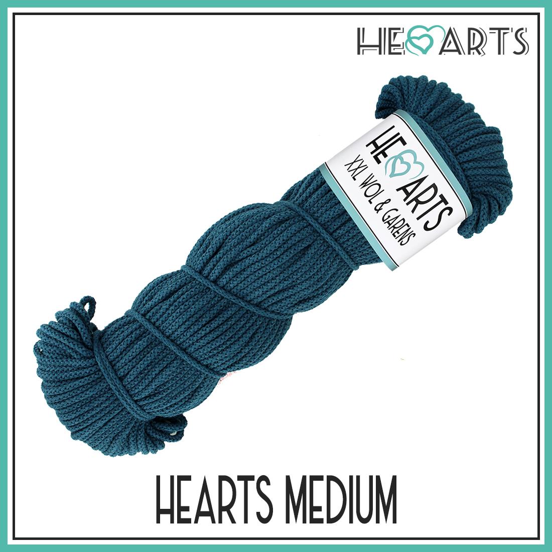 hearts medium katoen