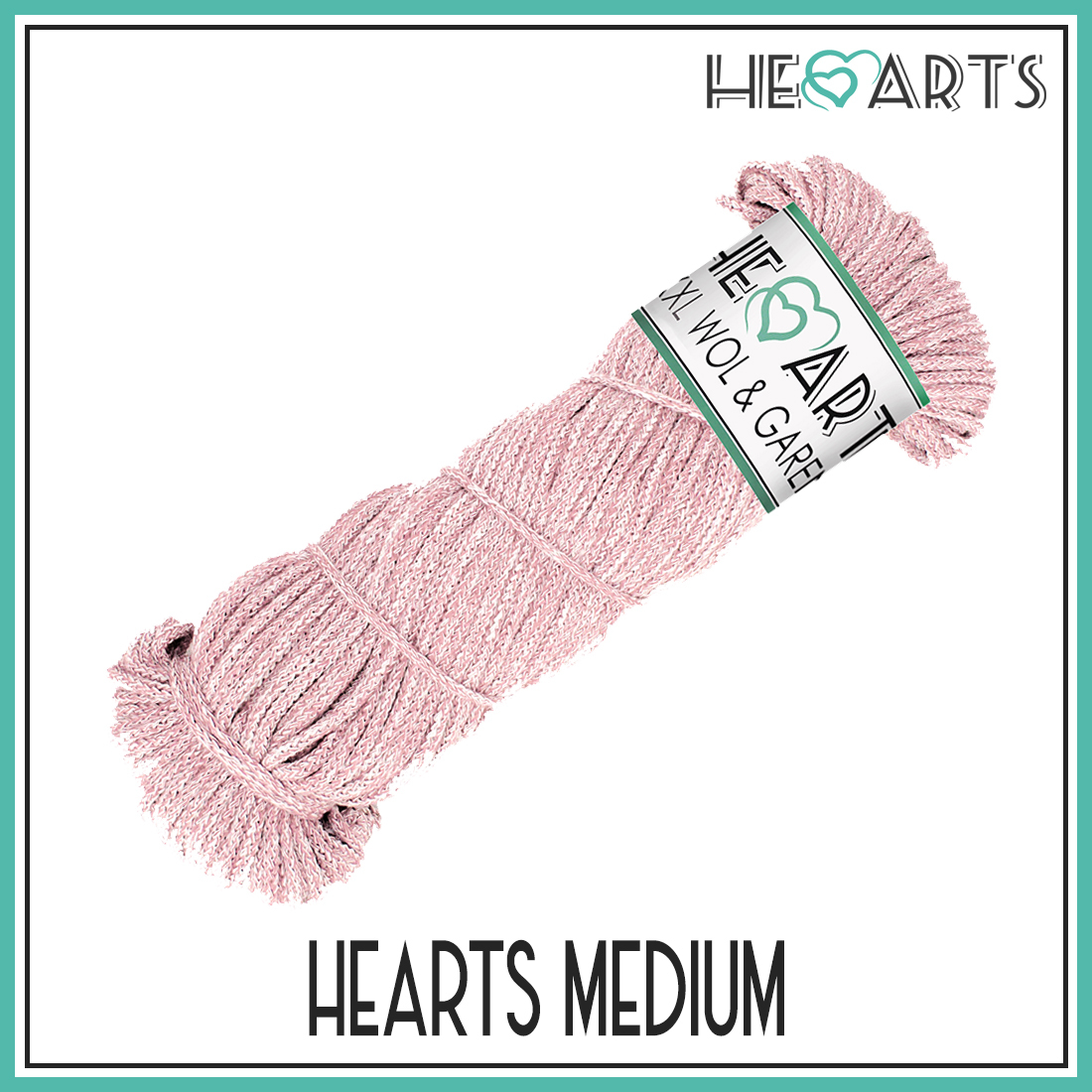 hearts medium katoen