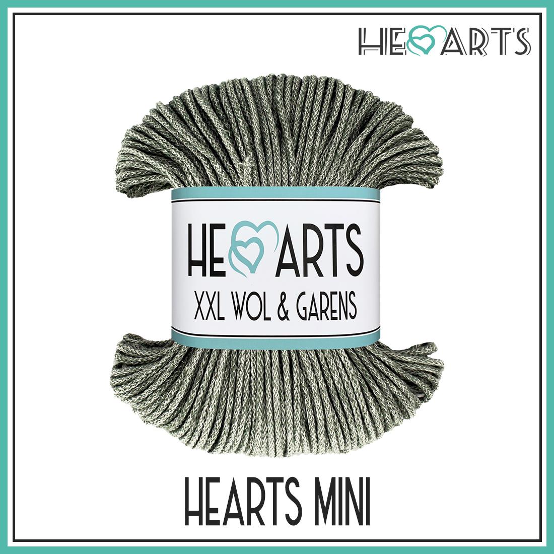 hearts katoen mini