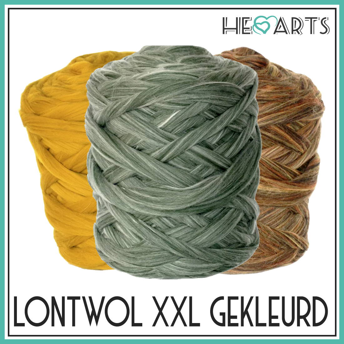 lontwol xxl gekleurd