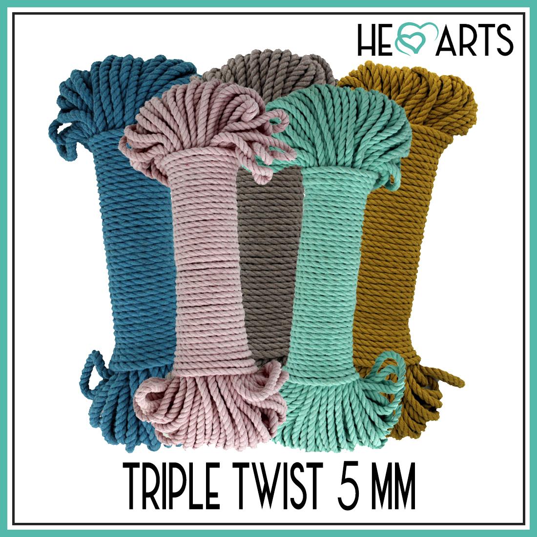 Triple twist 5 mm