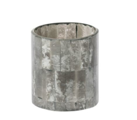 Votive light Blair grey