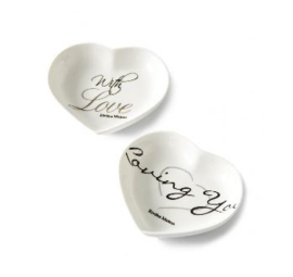 With Love Mini Plate 2 pcs