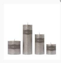 Candle Pillar silver