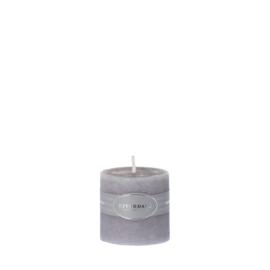 Candle Pillar Cool Grey