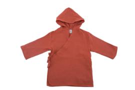 Mousseline badjas Roest size  68  (1  jaar)  of size 2  104  ( 2 jaar)
