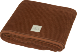 Junior blanket | ribvelvet | available in 5 colours