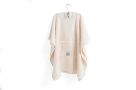 Poncho 2-5 jaar Off-white