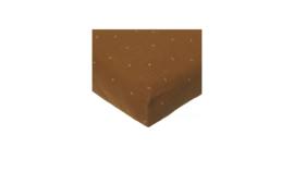 Wieg hoeslaken | leafprint | beschikbaar in 4 kleuren