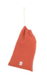 Mousseline poncho Roest  size 1 (1 - 2 jaar)  of size 2  (3-4 jaar)