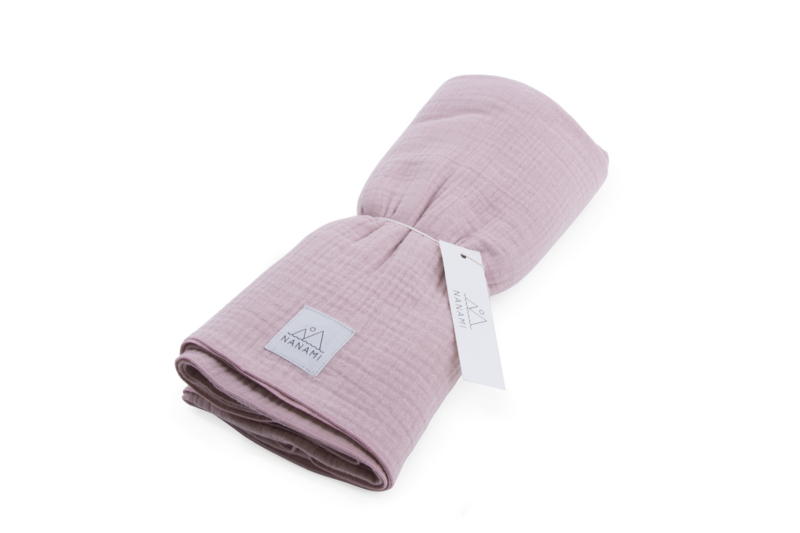 Swaddle 120 x 120cm Pink