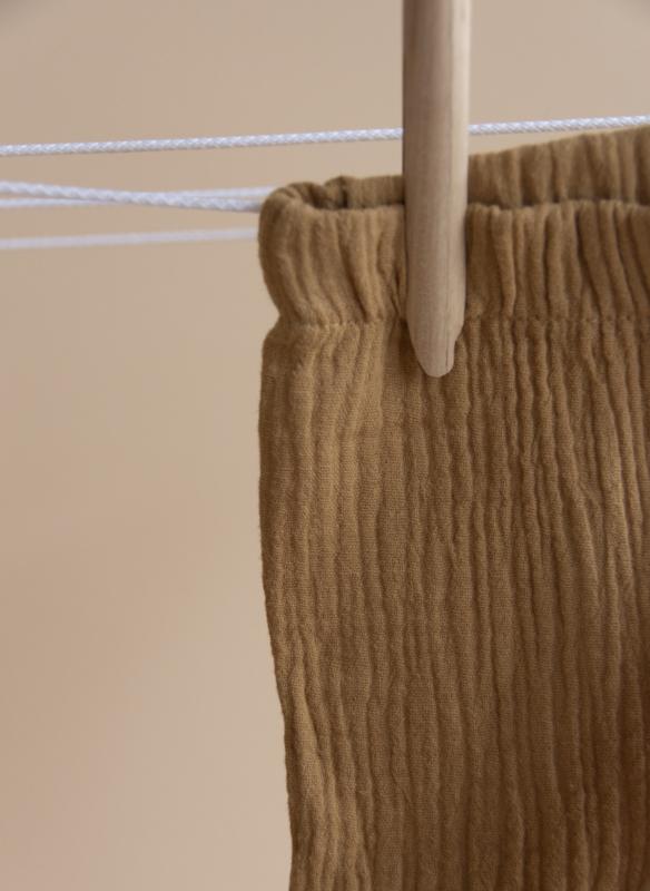 Broek | mousseline | beschikbaar in 5 kleuren
