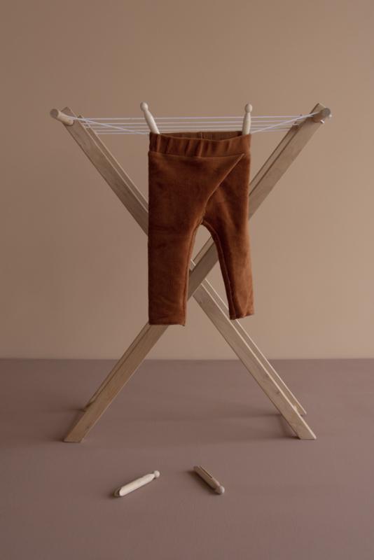 Broek | rib velvet | beschikbaar in 4 kleuren