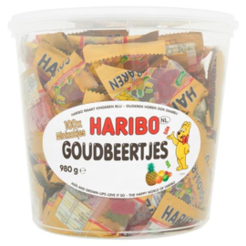 Haribo silo zakjes goudbeertjes 100 stuks
