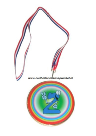 Sugro chocolade medaille NR 2 (doos 10 stuks)