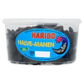 Haribo halve manen drop 150 stuks