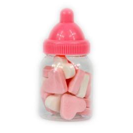 Babyflesje Vruchtenhartje Roze (12 stuks)