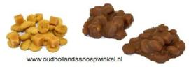 Cookie en fudge rotsjes melk  500 gram in blokzak