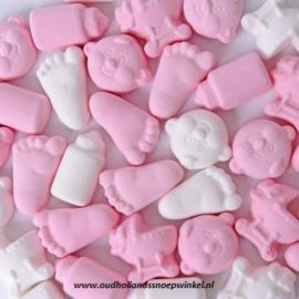 Babymix Roze/Wit (200 gram)