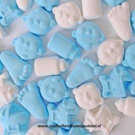 Babymix Blauw/Wit (200 gram)