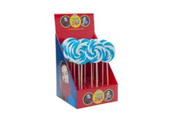 Spiraal Lollie Blauw (per 17 stuks)