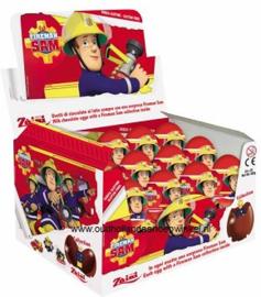 Verrassing ei choc. brandweer sam doos 24 stuks