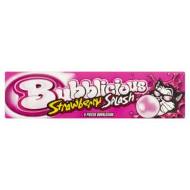 Bubblicious strawberry  per/stuk