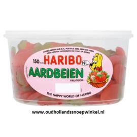 Haribo aardbeien fruitgom 150 stuks