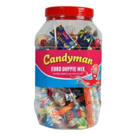 Candyman Euro duppie snoep mix 100 stuks