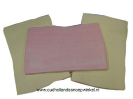 Reuzeblok spek A4 rechthoek  2 stuks