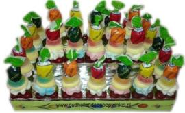 Spektaart ijsjes (uitdeeltaart 30 stuks)