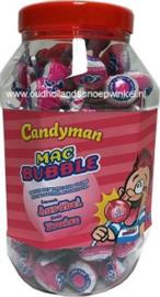 Fiesta Mr.bubbleknots aarbei pot 100 stuks