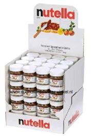 Nutella potje 25 gr. doos 64 stuks
