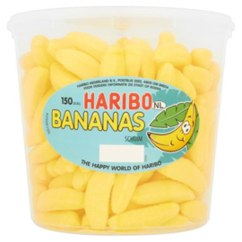 Haribo bananen schuim 150 stuks