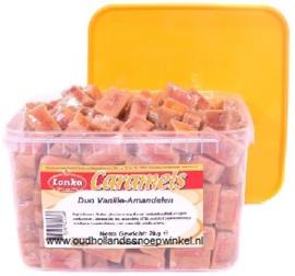 Lonka Caramels Vanille Amandel  2 kilo