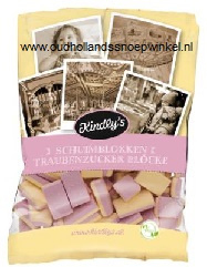 Kindley's Mini Schuimblokken vanille 120 gram