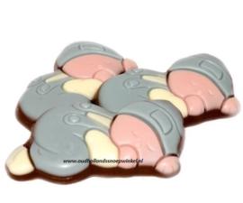 Choco Babies  Blauw (500 gram)